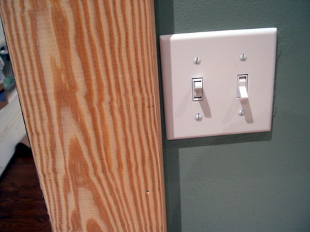 Tight light switch