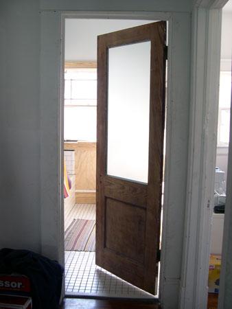 Putting Up A Sliding Pantry Door