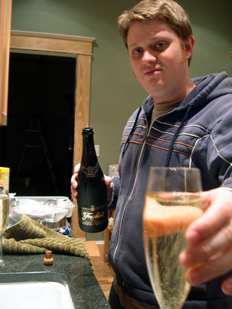 Celebrate with cava