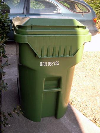 Herbie curbie trash can