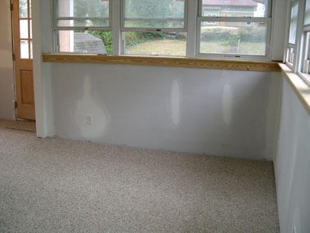 Laundry room carpet