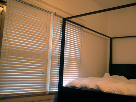 Guest bedroom blinds