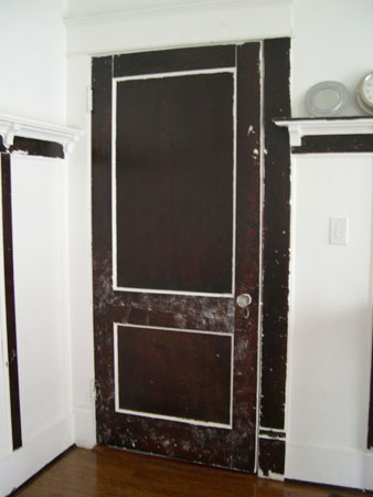 Dining room door
