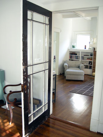 Bedroom/Parlor Door