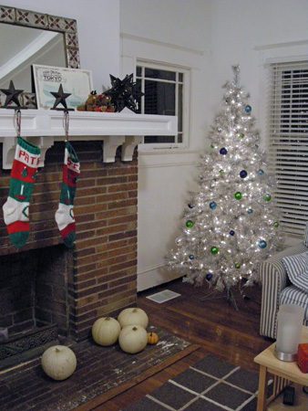 Livingroom with Christmas decoration