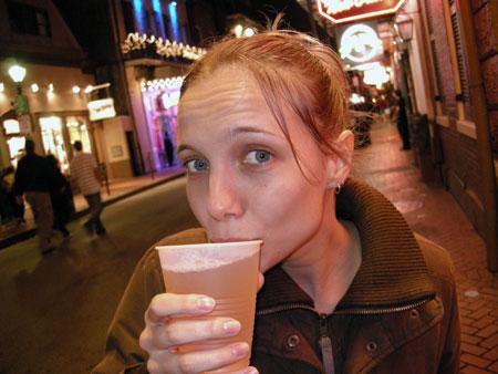 $1 Bourbon Street beer
