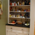 Kitchen butler's pantry