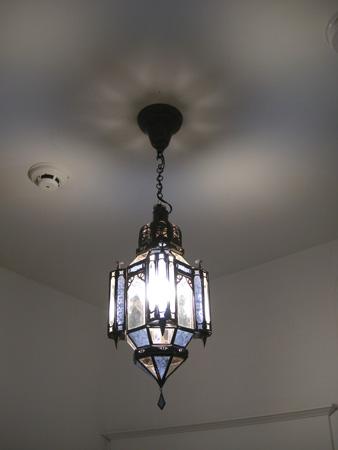 Hallway Moroccan light