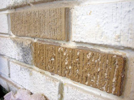 Brick after Peel Away