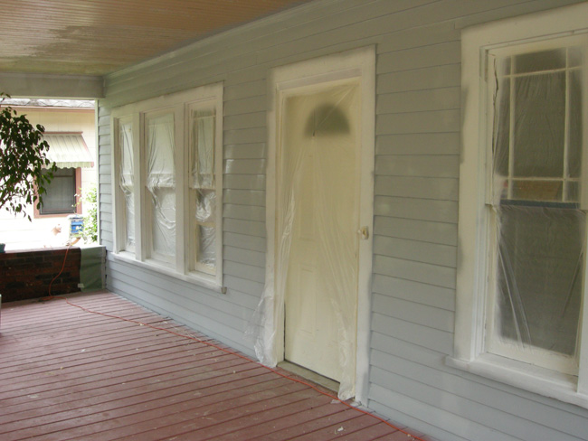 Porch priming