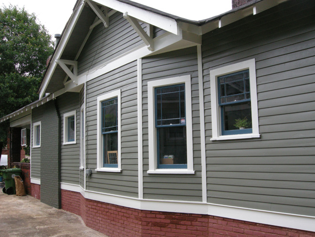 Bungalow exterior paint