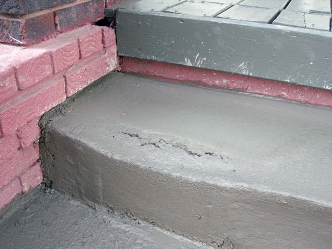 Cracking Wet Concrete