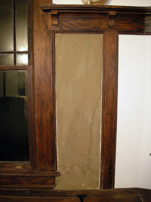 Dining room plaster walls 4