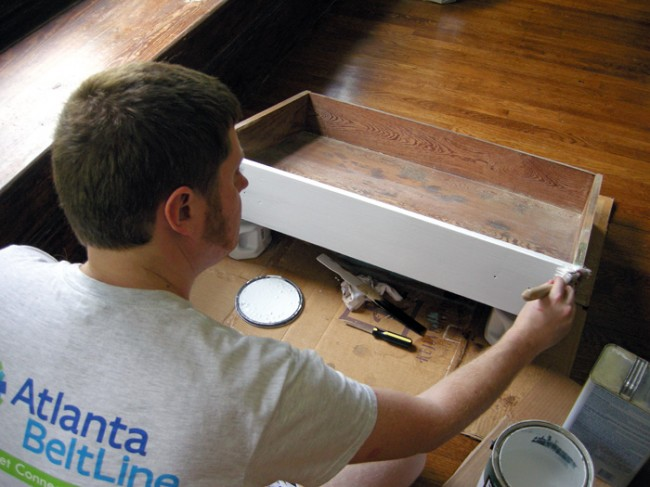 Built-in Drawer