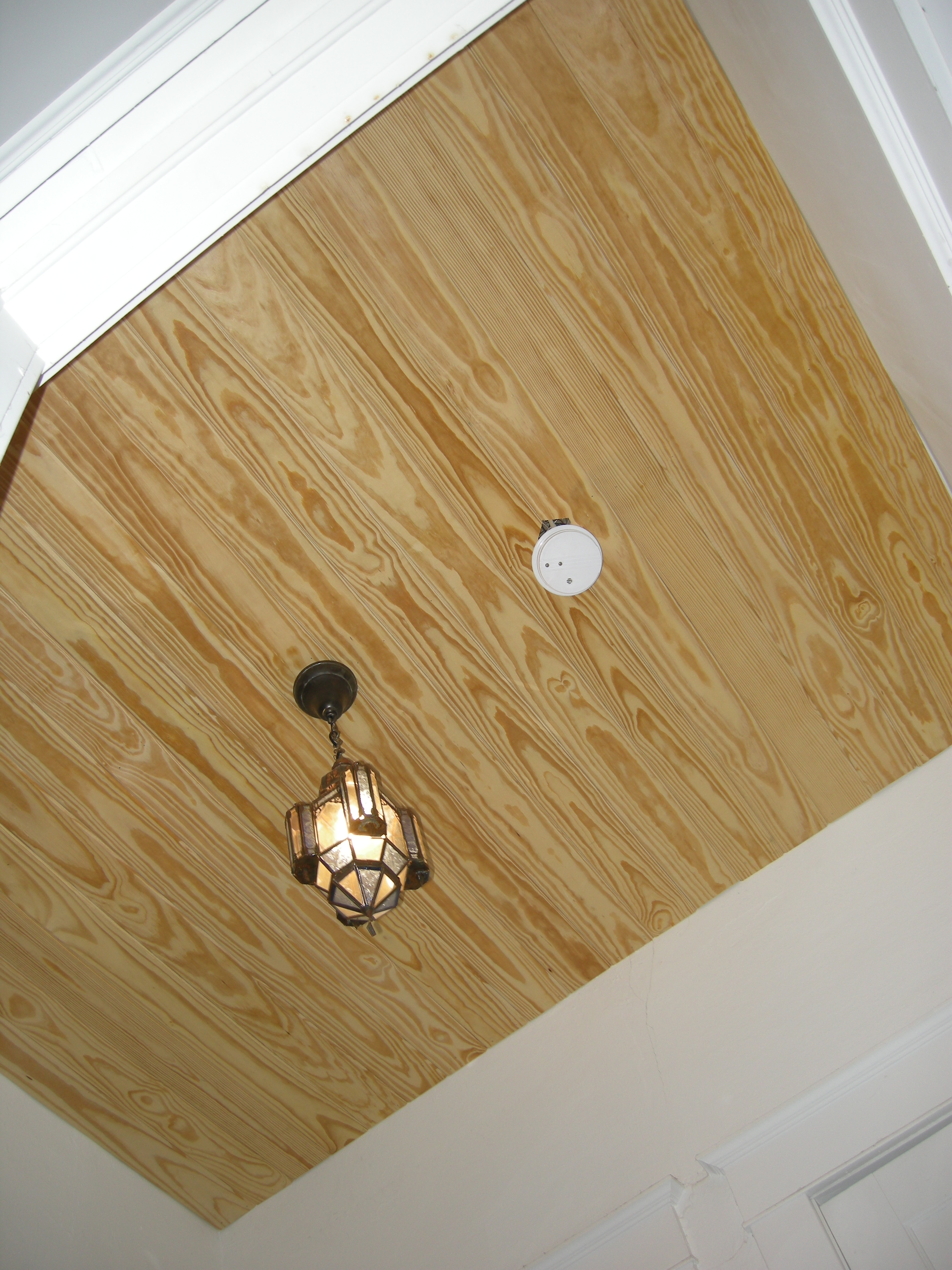 Superb img of Wood Panel Ceiling Westview Bungalow with #65492B color and 2736x3648 pixels