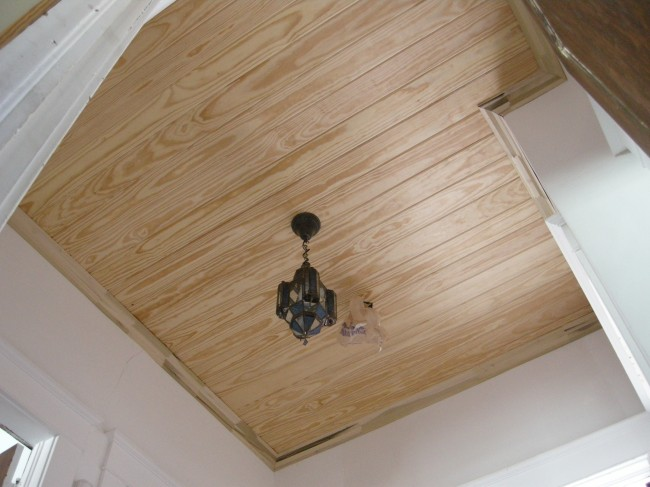 Wood Panel V-Groover Ceiling