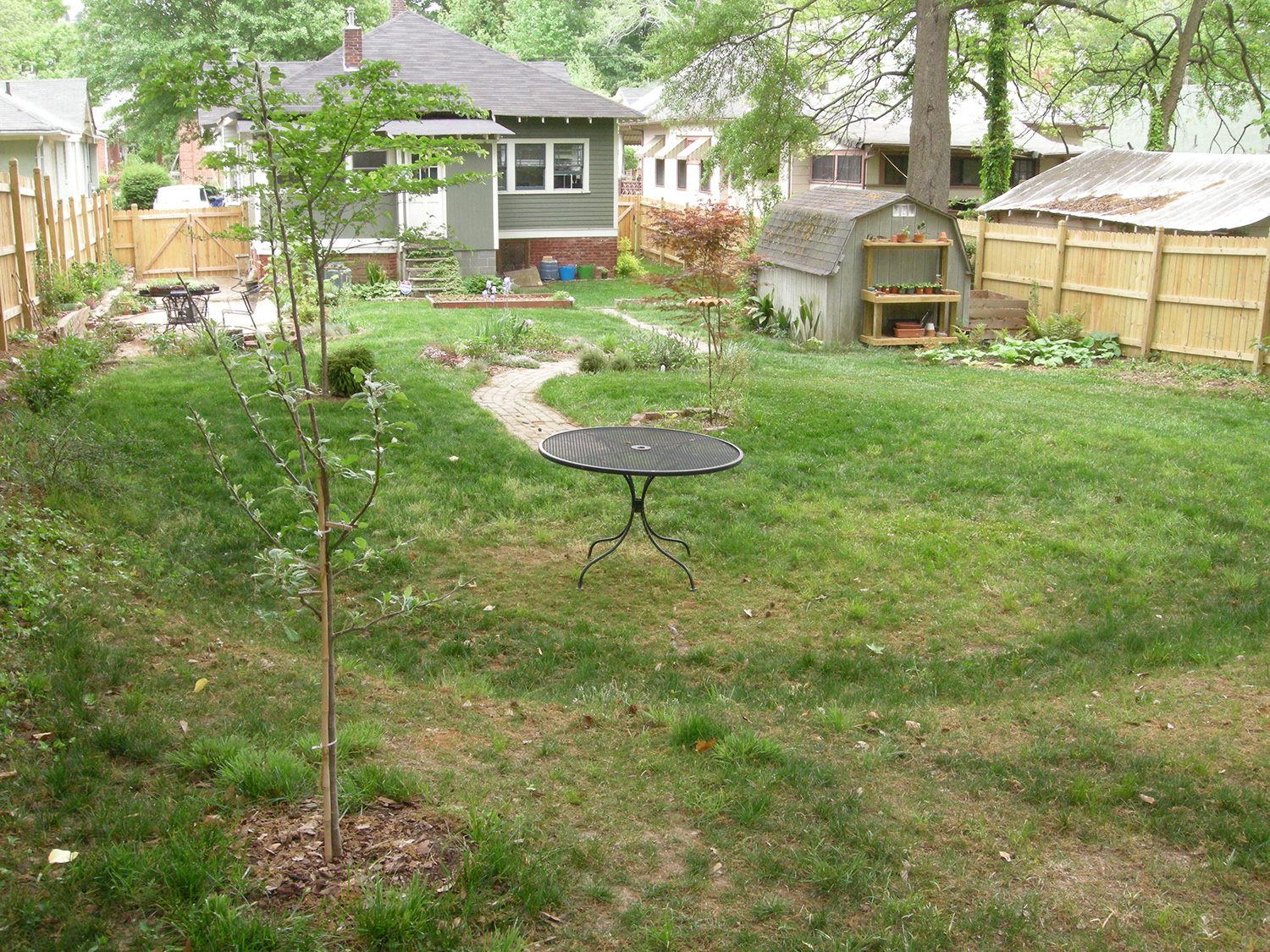 a new patio for the backyard westview bungalow