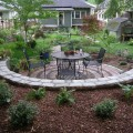 Patio Flower Bed Mulch