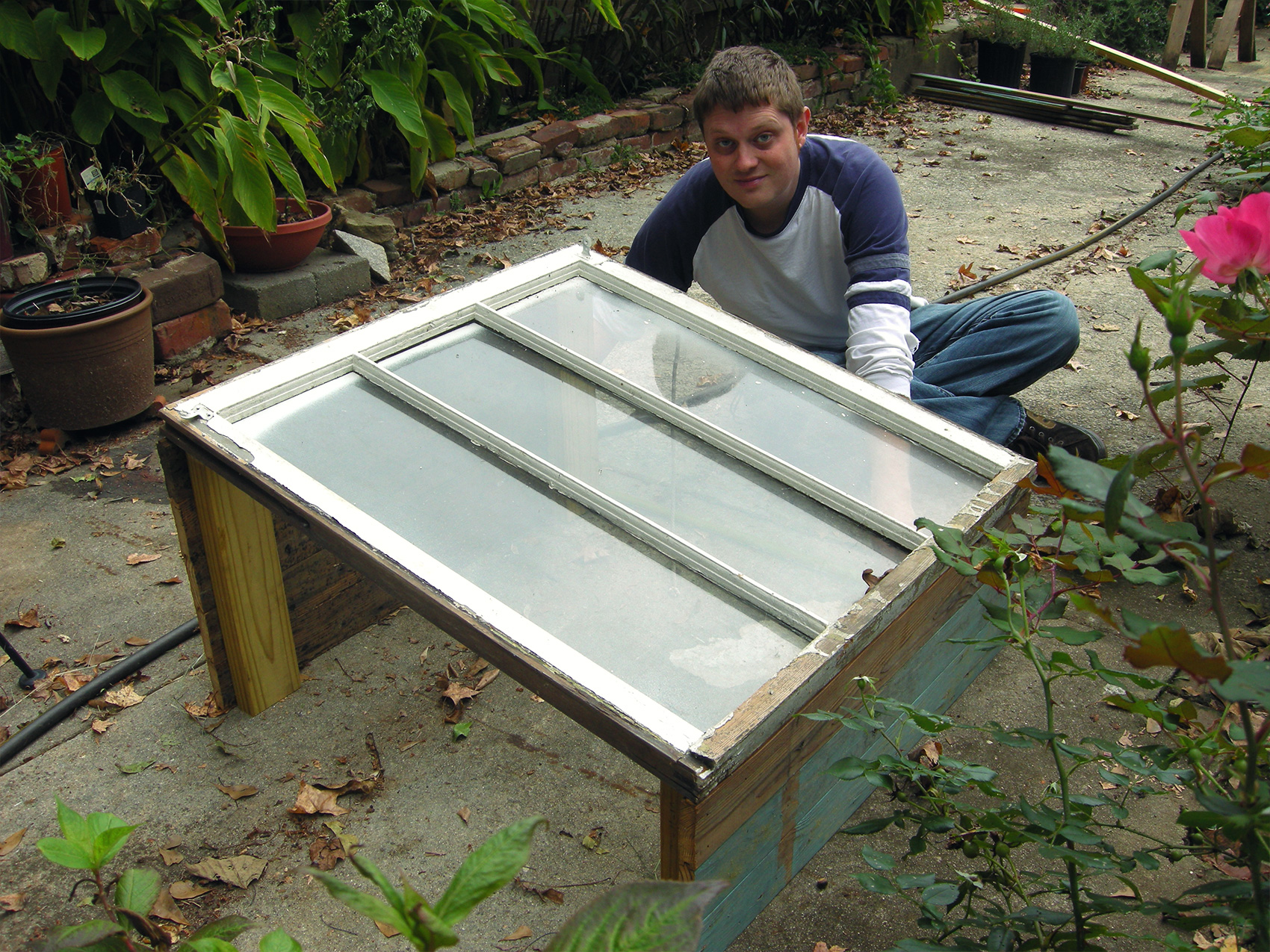 Building a Cold Frame - Westview Bungalow