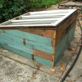 Cold Frame Side Walls Finished