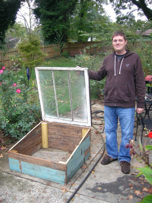 Finished Cold Frame