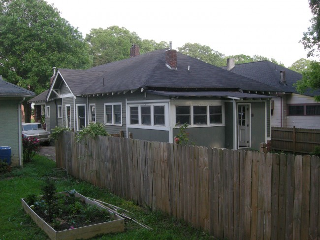 Side of Bungalow